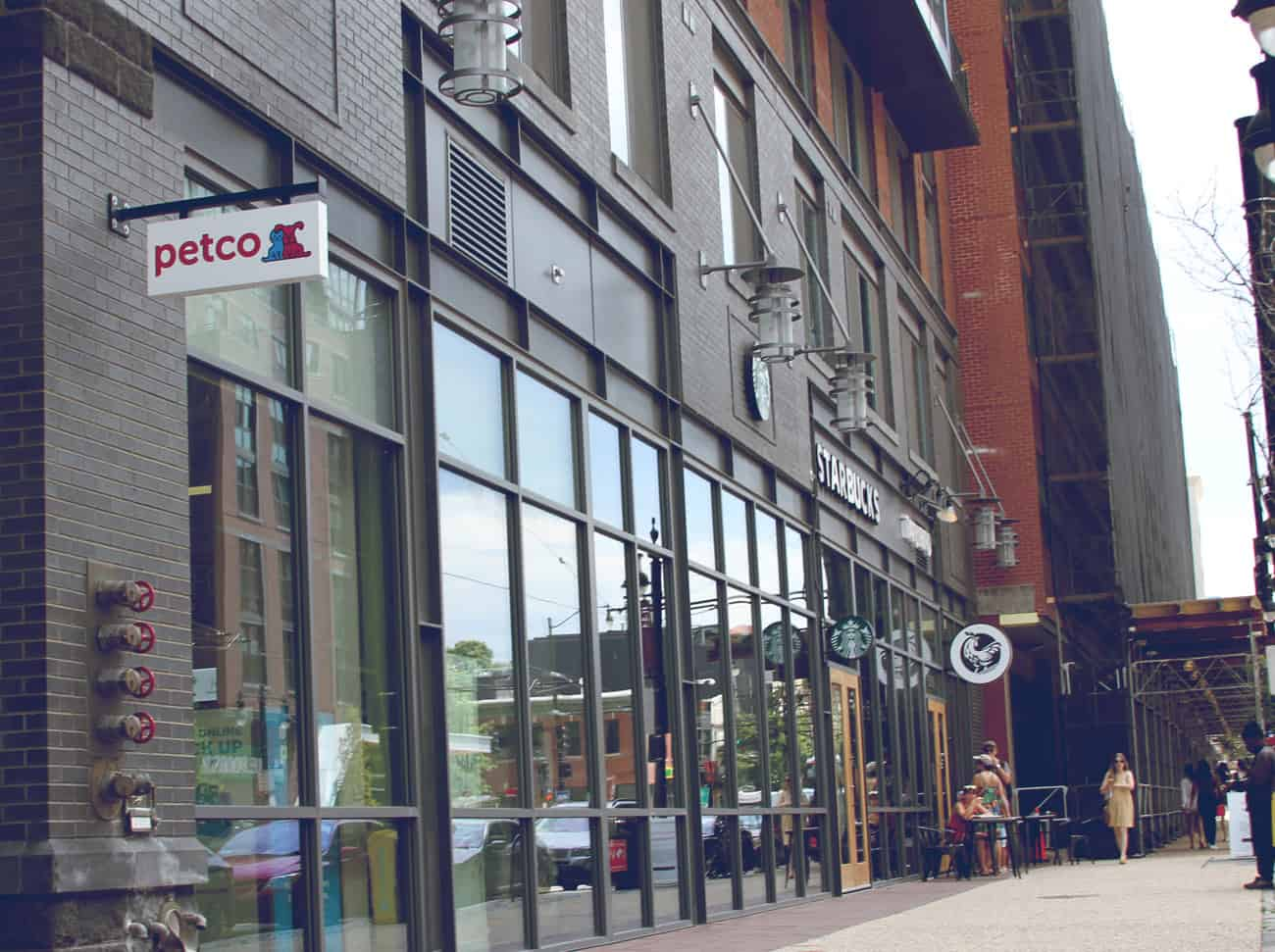 Petco and Starbucks on H Street