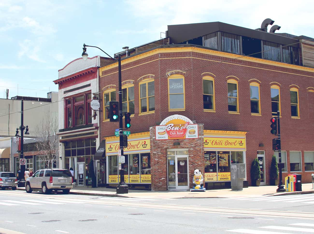 H Street storefronts
