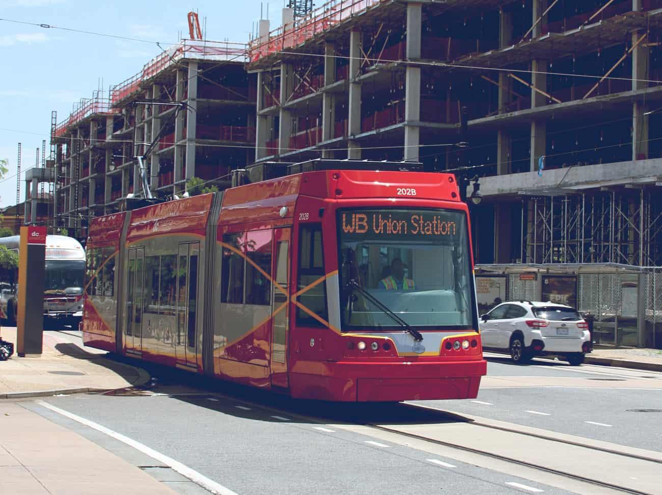 H Street public transportation